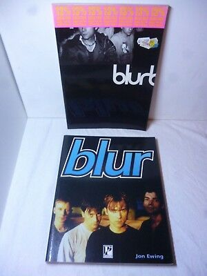 Blur Official Blur Book Good and Bad 1994 - 1995 + Parragon blur Jon Ewing