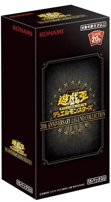 Yu-Gi-Oh YuGiOh 20th ANNIVERSARY LEGEND COLLECTION BOX from Japan NEW ,Pre-Order