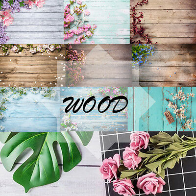 3/5/7ft Photography Background Photo Blanket Wood Wall Baby Food Flower Backdrop