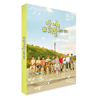 [EXP SHIP] NCT 127 [HI/HELLO/안녕! #SEOUL/서울] Photo Book+DVD+12p Card+GIFT SEALED