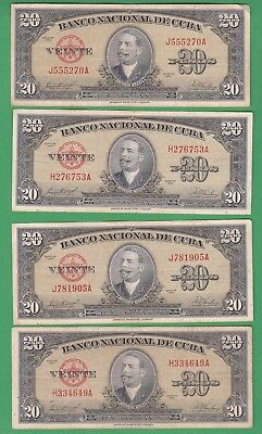 Central America .20 Pesos 1960..(4.99 $ For 1 Bank Note).