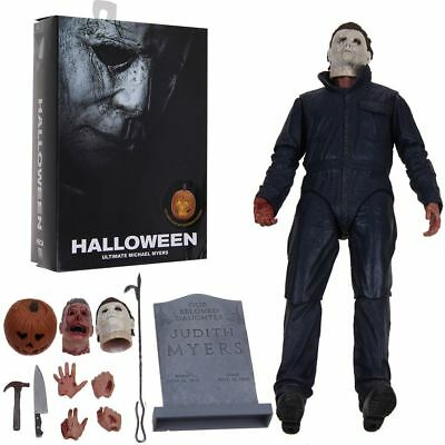 """Halloween (2018 Movie) Ultimate Michael Myers 7"""" PVC Action Figure Collectibles"""