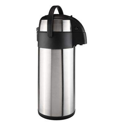 Pompe Cruche Isotherme Cafetière Inox Airport Bouteille 5 Thermos mvN8nw0O