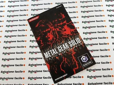 Manuale Nintendo Gamecube Ngc)) Metal Gear Solid)) The Twin Snakes Ottimo!_24H!!