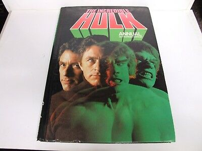 The Incredible Hulk Annual in good collectable condition