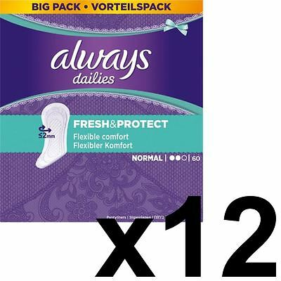 Always Dailies Forro de Pantaleta Normal Fresco & Protección Olor Neutralizar -