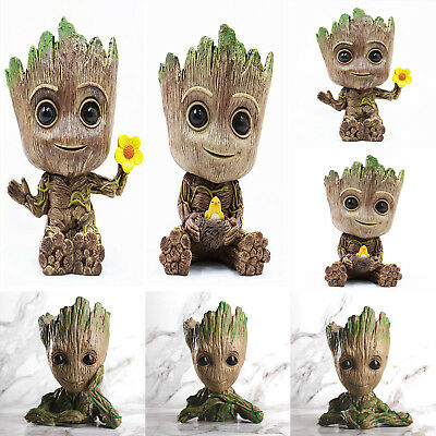 Guardians Of The Galaxy Baby Groot Figur Stifthalter Box Blumentopf Pflanzkübel