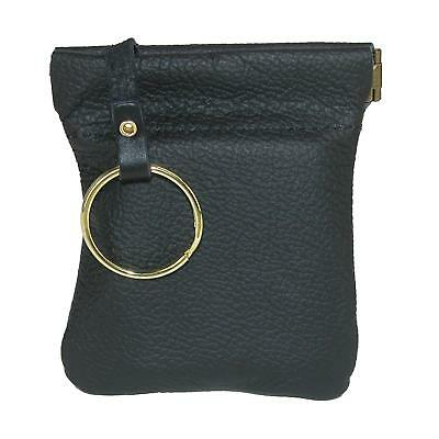 New CTM Men's Leather Key Case Coin Pouch Wallet