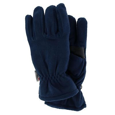 New CTM Men's Fleece Glove with Thinsulate Lining