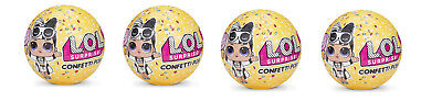 X 4  LOL Surprise Confetti Pop - Series 3 - LOL Doll