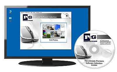 Full Professional Office Software Suite MS Word Excel Powerpoint PDF Compatible