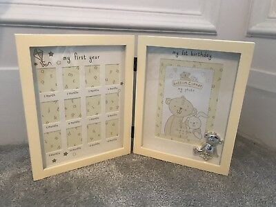 Baby's First Year Photo Frame Excellent Condition