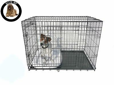 Ellie-Bo Divider for Dog Crate Cage X-Large 42-Inch Gold