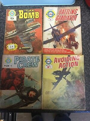 AIR ACE PICTURE LIBRARY COMICS #502#531#222#378 Read Details