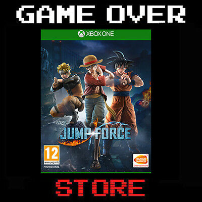 Videogioco Jump Force Italiano Microsoft Xbox One Dragon Ball One Piece Naruto