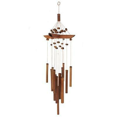 Bamboo Wind chime with beads !FREE UK P&P!