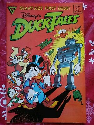 Disney's Duck Tales Giant-Size First Issue #1 Gladstone Comics