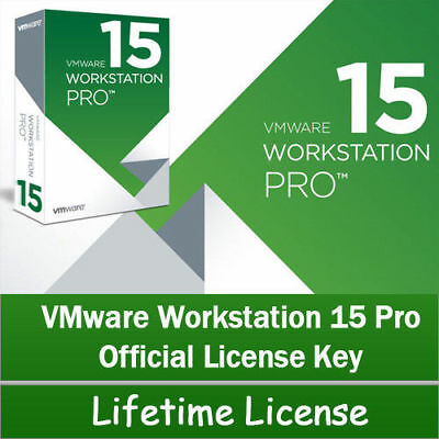 Vmware Workstation 15 Pro 🔑lifetime Key🔑official 2019 ✔ Fast Email Delivery📩