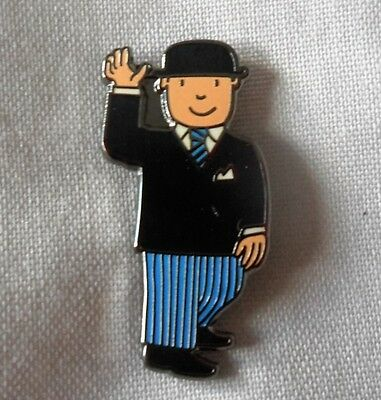**NEW** Mr Benn enamel badge. Indie, Retro, Kids, Childrens TV.