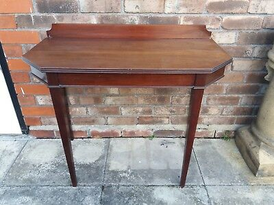 Antique side ,wall mahogany table H 75+ side 8 cm,L- 96cm,W-48 cm