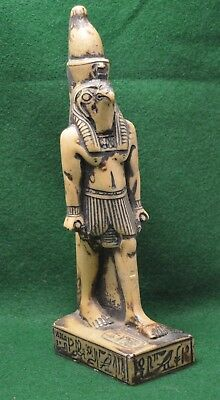 Large Charismatic Statue Of Ancient Egyptian Deity Horus