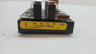 Bussman By Eaton T13195-434FS Fuse Block Holder, 60A 300V