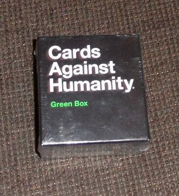 Cards Against Humanity UK Expansion Green Box 300 New Cards Brand New Sealed