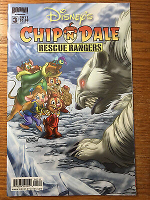 Walt Disney's Chip N Dale Rescue Rangers #3 Cover A Boom Comics 2011 NM & and