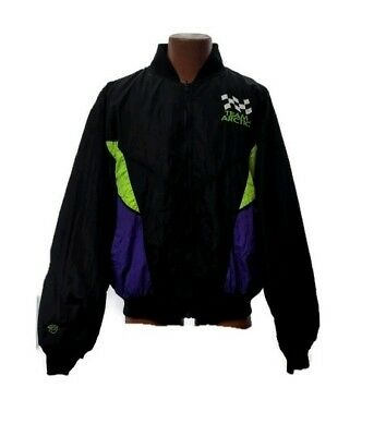 Arctic Cat Men/'s Leather Tex Black Insulated Snowmobile Jacket 5260-66X