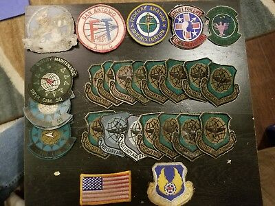 Lot of 28 Air Force/Military Patches!  (#btc)