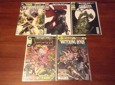 Wonder Woman(56, 57)/Justice League Dark (4) The Witching Hour Parts 1-5 Set