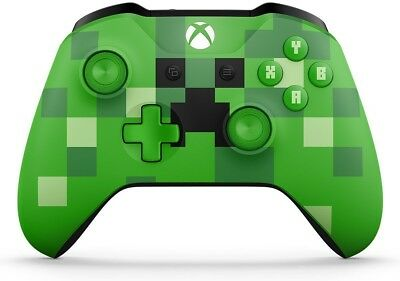 Microsoft Xbox One S Wireless Controller - Minecraft Creeper