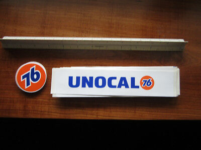 1 Lot Union Oil/Unocal 76 Decals - Free Shipping