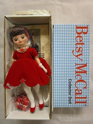 2001 Betsy McCall Has a Happy Holiday Christmas Doll Tonner w/ Box MIB BMCL1105