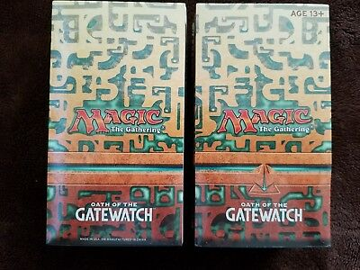 2 MTG Oath Of The Gatewatch Prerelease packs/kits Factory Sealed FREE SHIPPING
