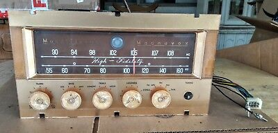 "Vintage ""Magnavox"" Tube Stereo Preamplifier/Tuner #64-01-00, Good Shape...Read"