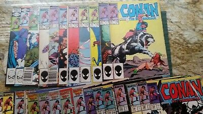 Hugh Lot Of Marvel's Conan The Barbarian