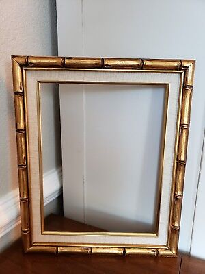 Picture Frame 11x14 Vintage Shabby Chic Antique Style Baroque Gold