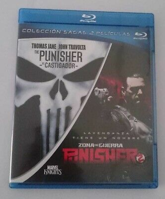 Pack Punisher + Punisher 2 Blu-ray Sony Pictures H. E. EL CASTIGADOR