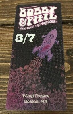 Bobby & Phil Duo Ticket Limited Edition Not Poster Grateful Dead and Company