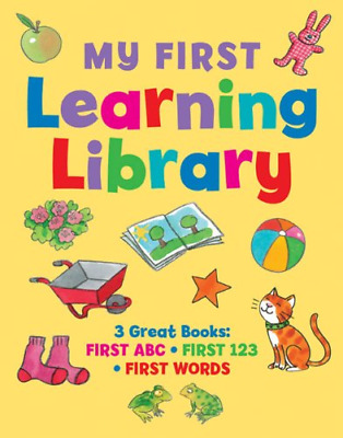 My first learning library: 3 Great Books: ABC  First 123  First Words, Jan Lewis