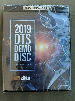 2019 DTS Demo Disc CES - DTS:X 4K UHD Blu-ray - SEALED