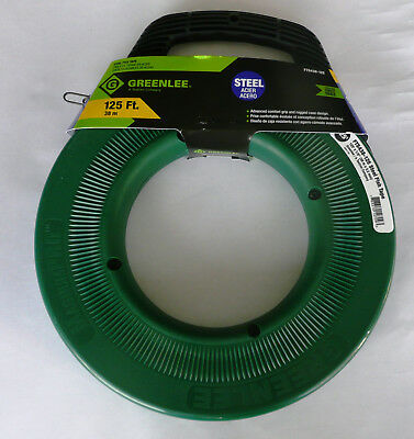 Greenlee FTS438-125, Steel Fish Tape, 125 feet, UPC 783310127093 (see photos)