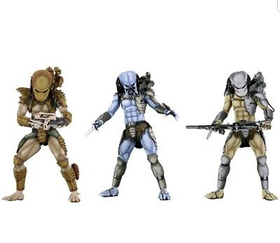 NECA Alien vs Predator Arcade  Set of 3 (Mad, Warrior, Hunter) In Stock