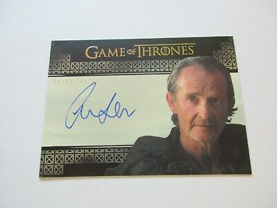 Game of Thrones Valyrian Steel Anton Lesser as Qyburn VS Autograph