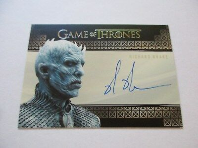 Game of Thrones Valyrian Steel Richard Brake as Night King VS Autograph