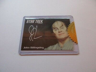 Quotable Star Trek Enterprise Series 1 John Billingsley Phlox Autograph Archives