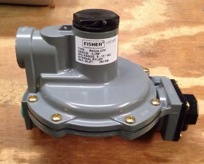 Fisher Propane Integral Two Stage Regulator R632A-BCF Great for Food Trucks
