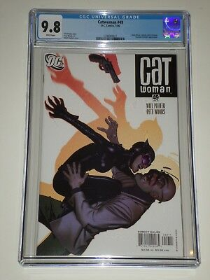 Catwoman 49 (Jan 2006) CGC 9.8 Adam Hughes Cover, Black Mask Zatanna Appearances