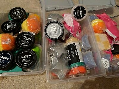 Lush Fresh Handmade  - New - Random Mixture of Lush! Bath Bombs Lotions & More